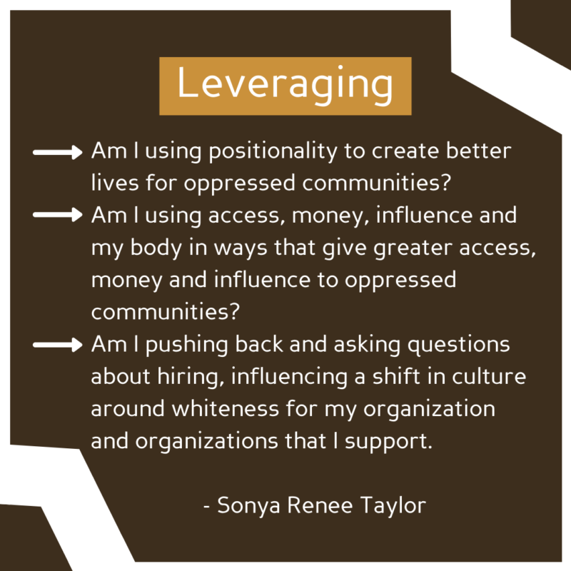 """""""Leveraging"""" See image description for full text."""